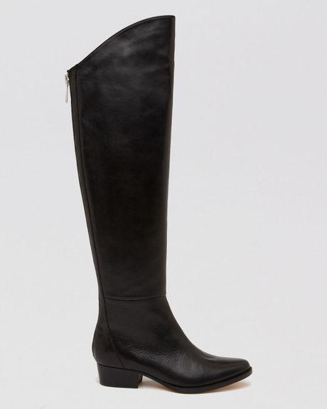 dolce vita knee high boots daroda in black lyst