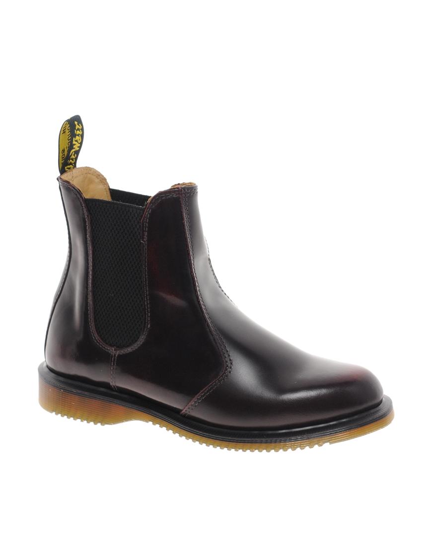 dr martens chelsea boots dame