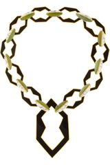 Eddie Borgo Goldplated Jade and Howlite Link Necklace - Lyst