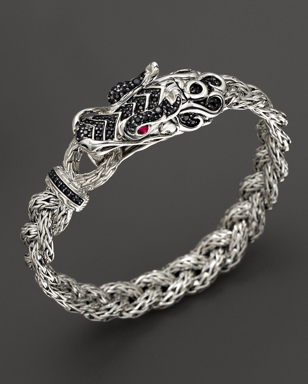 Lyst John Hardy Batu Naga Silver Dragon Head Bracelet