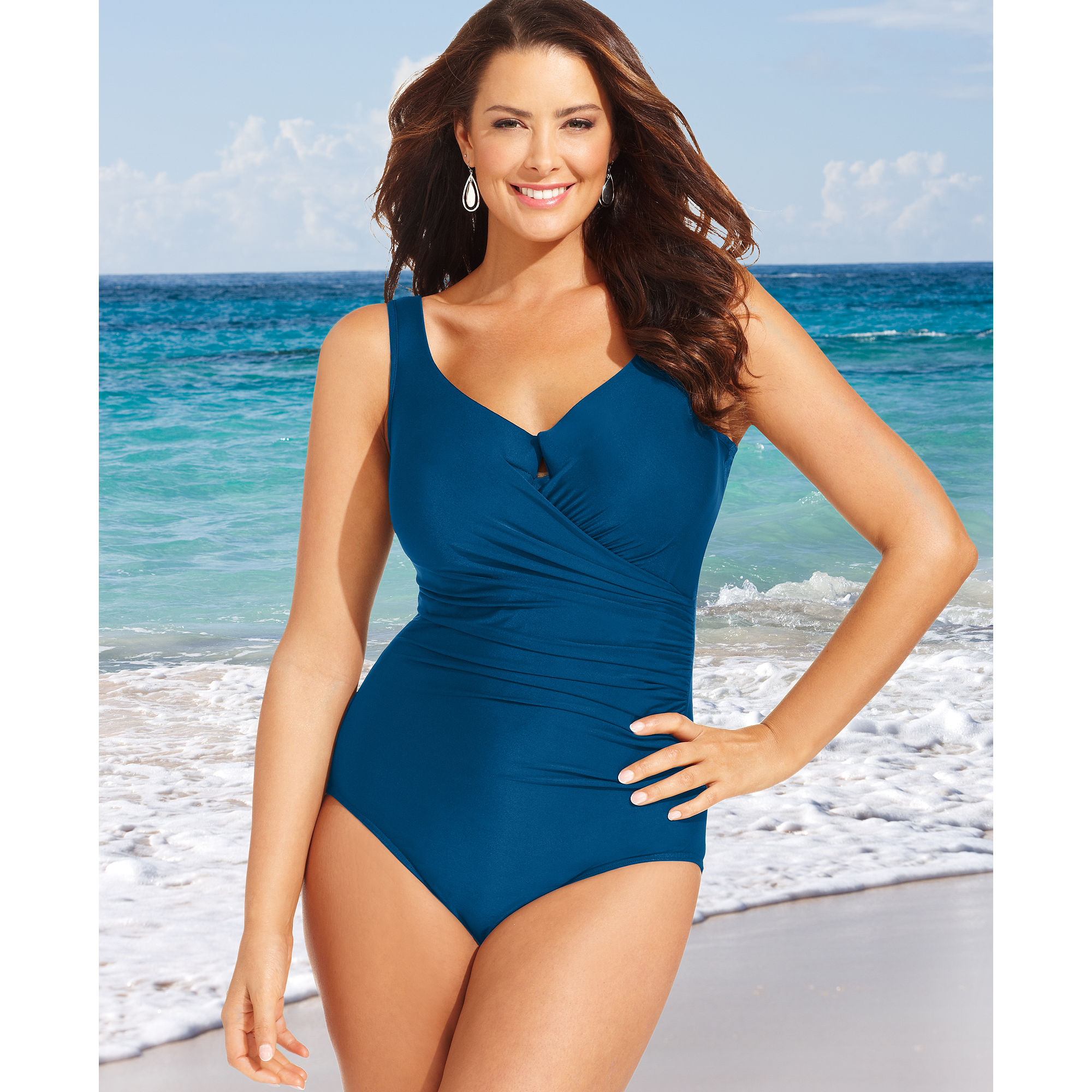e1890f2f0ca Lyst - Miraclesuit Escape Onepiece in Blue