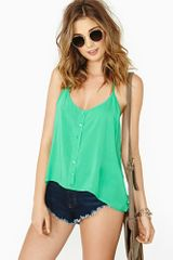 Nasty Gal Get Fresh Halter Top - Lyst