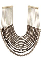 Rosantica Gold-dipped Smoky Quartz Necklace - Lyst