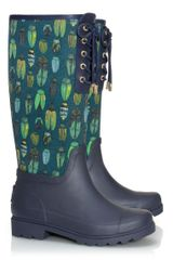 Tory Burch Lana Laceup Rainboot - Lyst