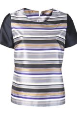 Harvey Faircloth Striped Tshirt - Lyst