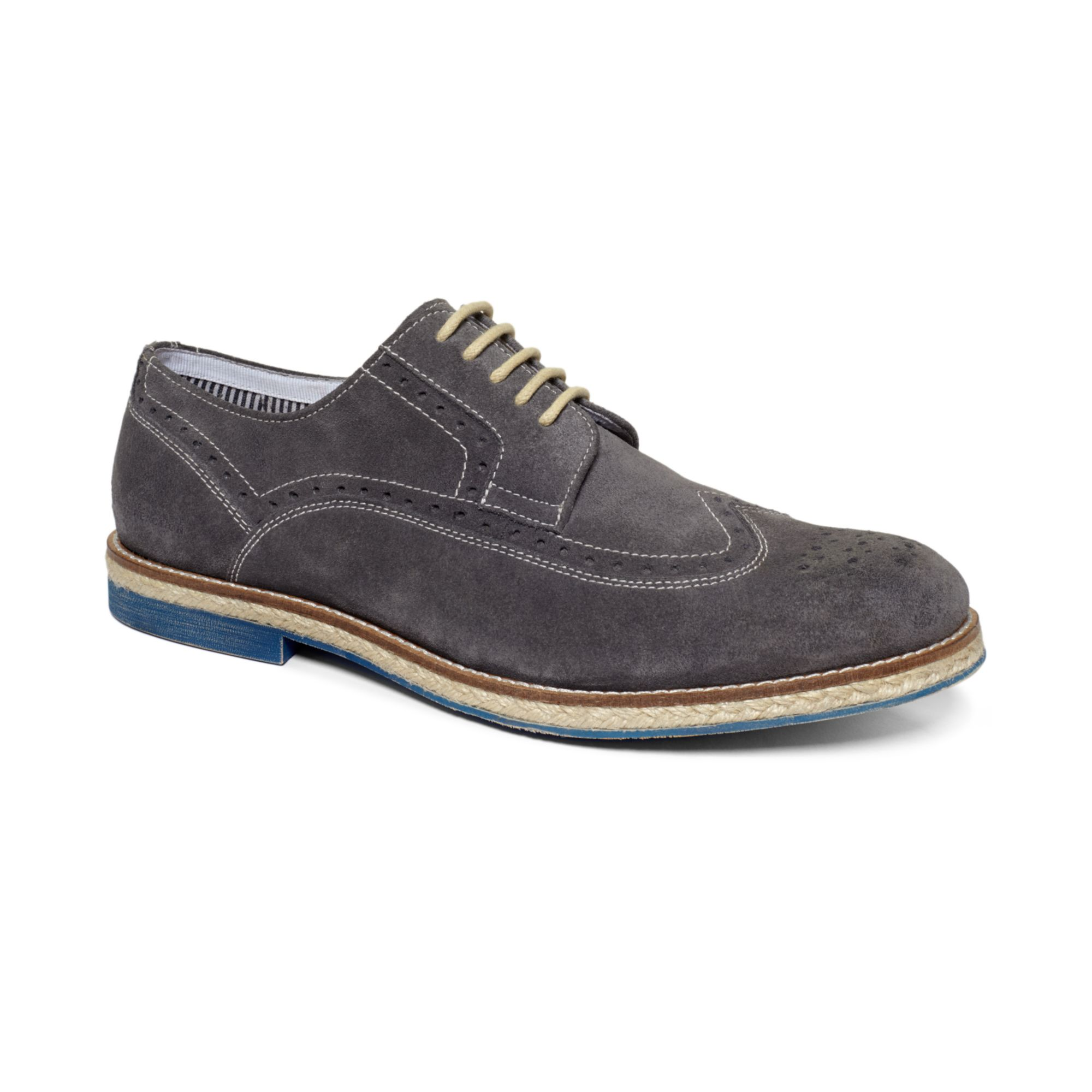 kenneth cole reaction growceeds wingtip laceup shoes in