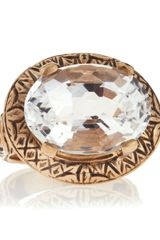 Stephen Dweck Crystal Quartz Oval Ring - Lyst