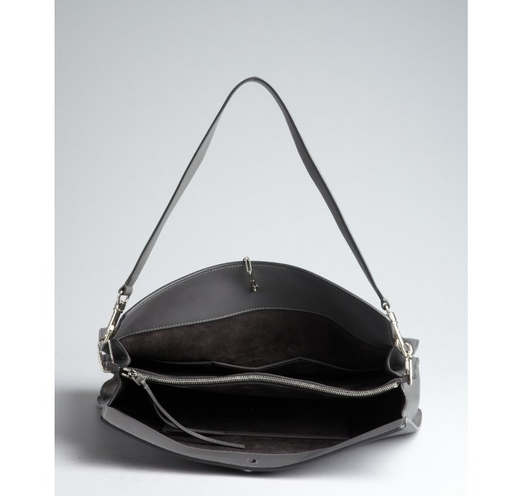 celine hobo shoulder bag in leather