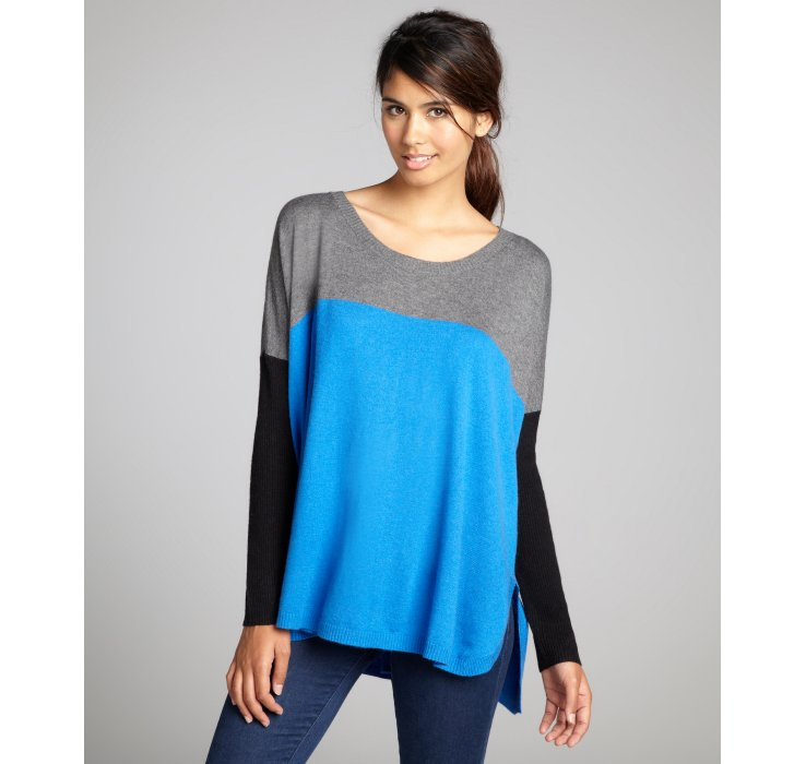Jamison Cobalt Heather And Black Relaxed Fit Barrington