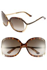 Jimmy Choo Beatrix 61mm Sunglasses - Lyst