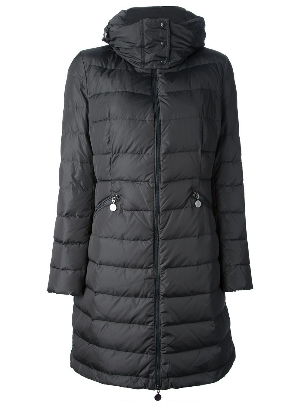 Lyst Moncler Flamme Padded Coat In Black