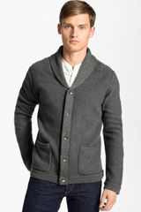 Rag & Bone Avery Shawl Collar Cardigan - Lyst