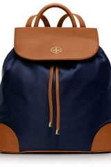 Tory Burch Robinson Nylon Backpack - Lyst