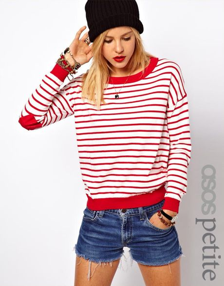 Petite Red Sweater 30