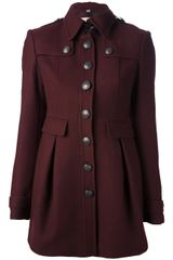 Burberry Brit Classic Collar Coat - Lyst