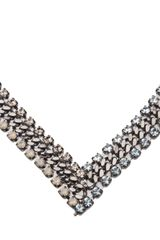 Dannijo Stone Necklace - Lyst