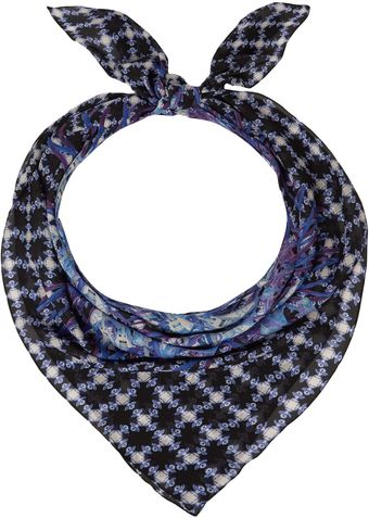 Hermione De Paula Electric Blue Flying Guitar Scarf - Lyst