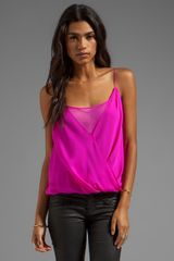 Jay Godfrey Shore Layered Tank in Fuchsia - Lyst