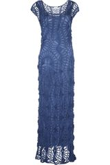 Lisa Maree The Lark Crocheted Maxi Dress - Lyst