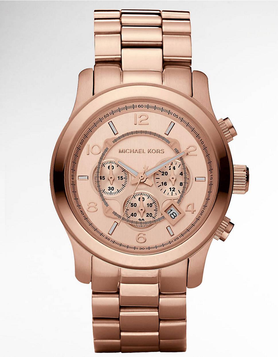 michael kors mk5676 ritz goldtoned watch for women in