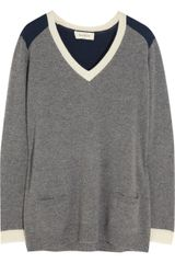 Paul & Joe Gignac Colorblock Cashmere Sweater - Lyst