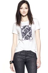Tory Burch Arizona Tee - Lyst