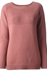 Vanessa Bruno Athé Bobble Knit Sweater - Lyst