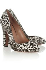 Alaïa Animalprint Calf Hair Pumps - Lyst