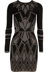 Alice By Temperley Ritz Intarsia Cotton Blend Dress - Lyst