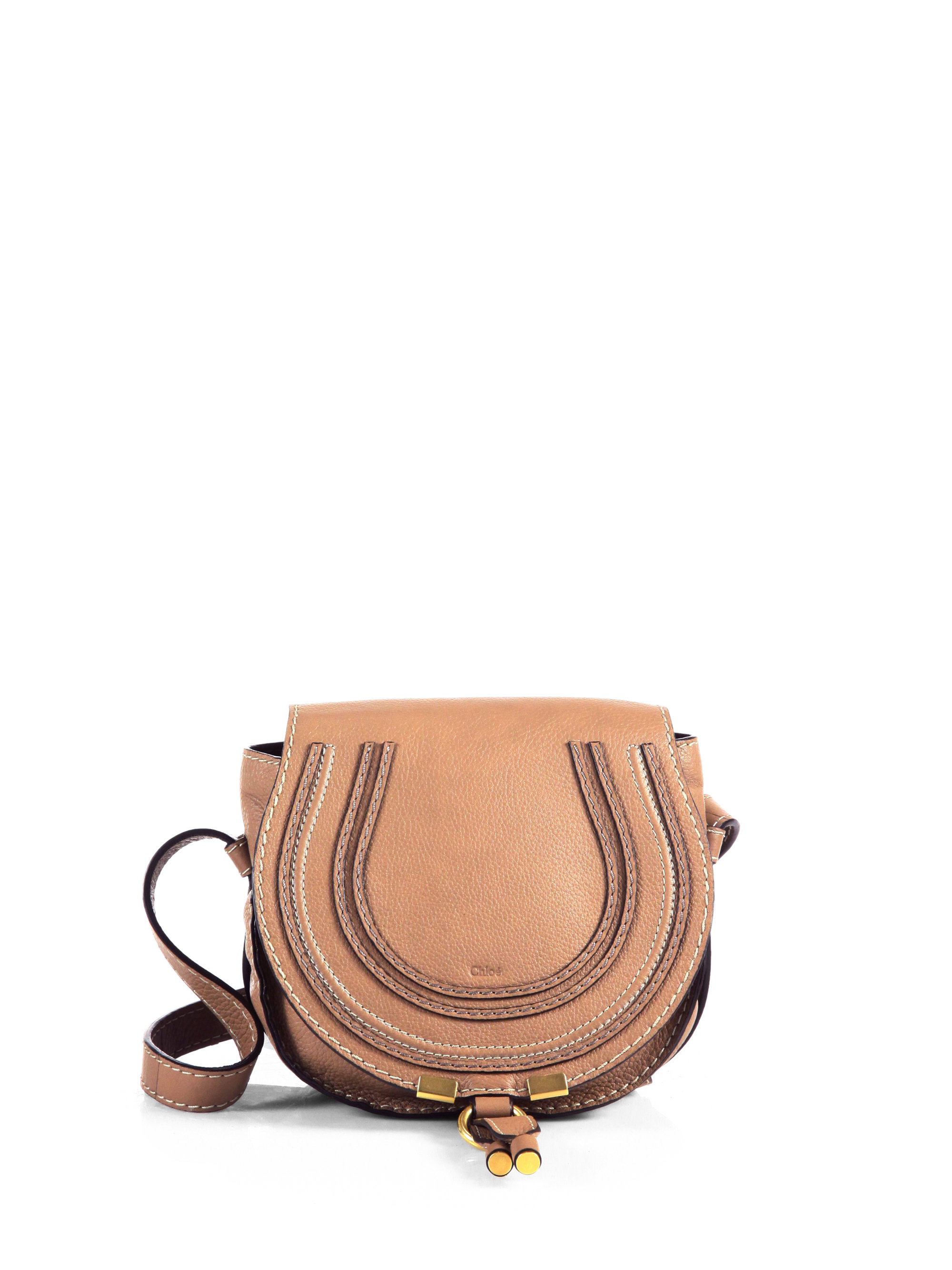 imitation chloe bags - Chlo�� Marcie Small Crossbody Bag in Brown (NUT) | Lyst