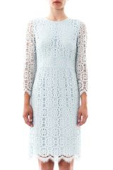 Dolce & Gabbana Lace Longsleeve Dress - Lyst