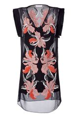 Matthew Williamson Black Beaded Silk Dress - Lyst