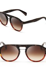 Prada Phantos Rounded Timeless Sunglasses - Lyst