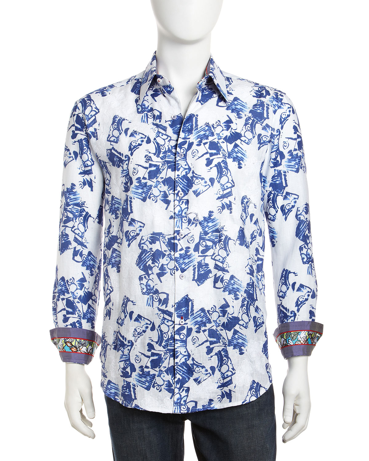 Robert graham shirts blue the image kid for T shirt printing in palmdale ca