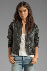 Elizabeth And James Lena Jacket in Black - Lyst