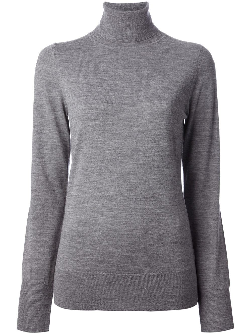 isabel marant pelton turtleneck pullover in gray lyst. Black Bedroom Furniture Sets. Home Design Ideas