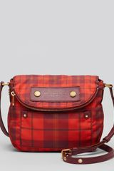 Marc By Marc Jacobs Crossbody Preppy Nylon Aimee Plaid Mini Natasha - Lyst
