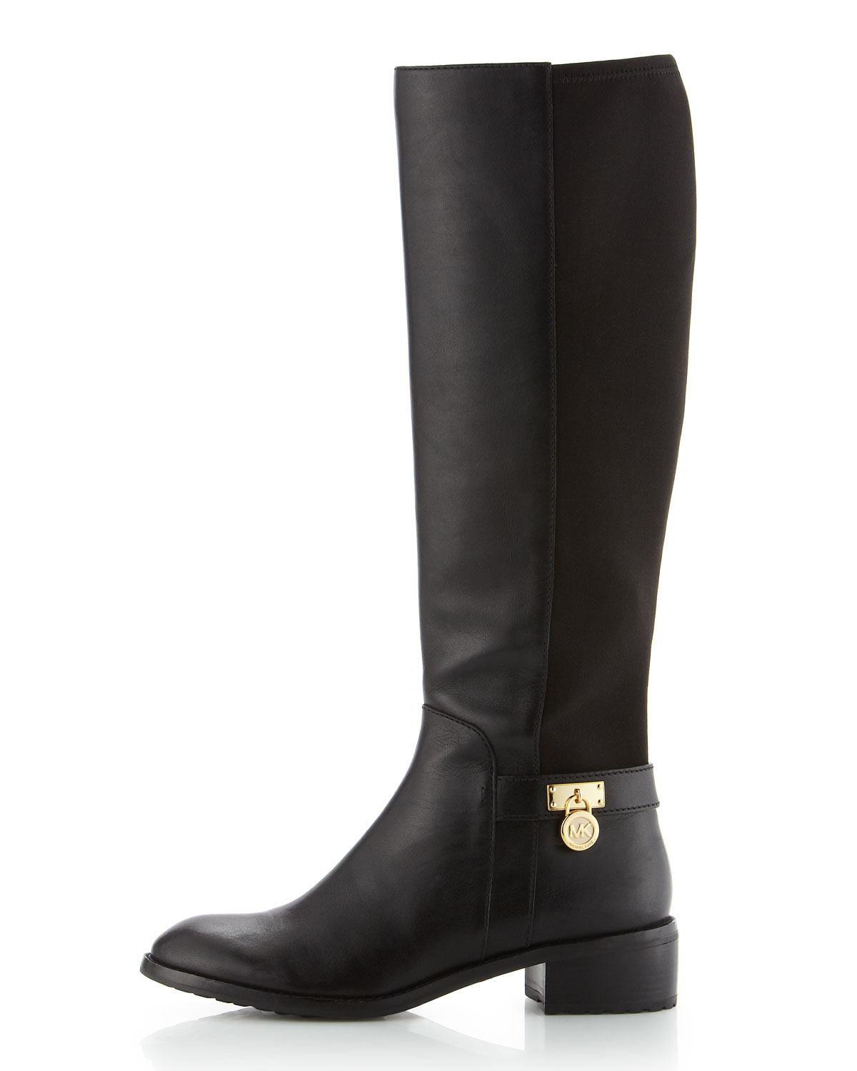 dc35c3087df4 Lyst - MICHAEL Michael Kors Hamilton Stretch Knee Boot in Black