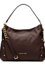 Michael by Michael Kors Large Leigh Shoulder Bag - Lyst