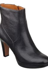 Nine West Pook Bootie in Black (BLACK LEATHER) - Lyst