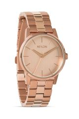 Nixon The Small Kensington All Rose Gold Tone Watch 32mm - Lyst