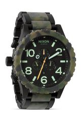 Nixon The 5130 Chrono Camo Watch 51mm - Lyst