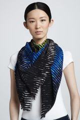 Peter Pilotto Printed Silk Scarf - Lyst
