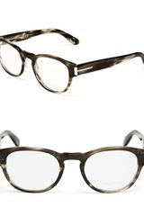 Tom Ford Rounded Keyhole Optical Frames - Lyst