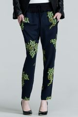 A.L.C. Alak Printed Easy Pants - Lyst