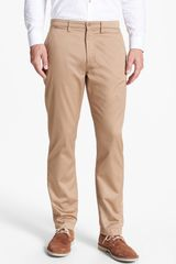 Fred Perry Slim Fit Twill Chinos - Lyst