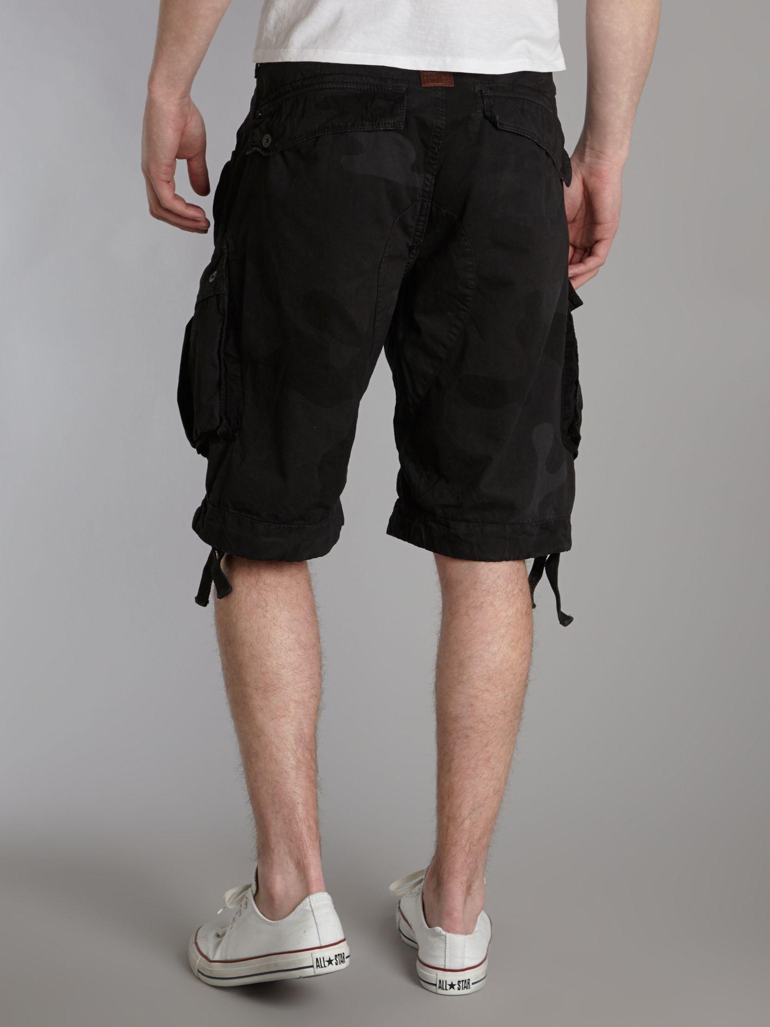 g star raw raw herren shorts rackam cargo 1 2 mehrfarbig. Black Bedroom Furniture Sets. Home Design Ideas