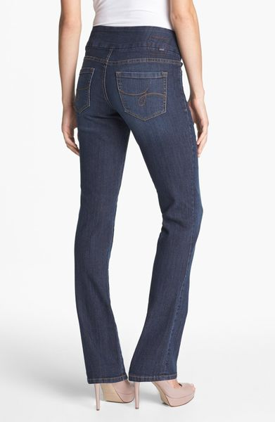 Jag Jeans Paley Pullon Bootcut Jeans in Blue (Atlantic Blue)   Lyst
