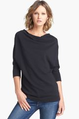 James Perse Vintage Dolman Sleeve Cotton Top - Lyst