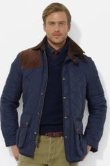 Polo Ralph Lauren Brooks Quilted Car Coat - Lyst